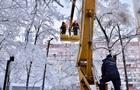 В Украине обесточены полторы сотни городов и сел