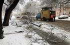 В Украине выпало более метра снега