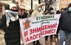 В Черновцах протестуют против  красного  карантина