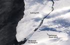 Айсберг-гигант в Антарктиде показали из космоса