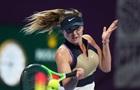 Свитолина одержала уверенную победу на старте турнира в Дохе
