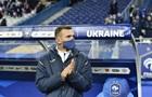 Шевченко оголосив список гравців на березневі матчі збірної України