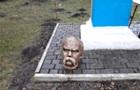 На Прикарпатті знайшли вандалів, які обезголовили пам ятник Шевченку