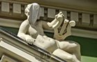 В Одесі знайшли пляшку в голові у статуї
