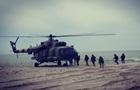 Українські десантники провели навчання біля моря