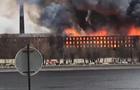 У Петербурзі спалахнула велика пожежа, є жертви