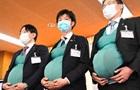 Японські чоловіки-політики  завагітніли