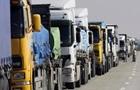 На Чернігівщині на кордоні скупчилися понад 300 вантажівок