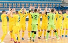 Сборная Украины по футзалу пробилась на Евро-2022