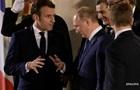 Макрон планує провести переговори з Путіним