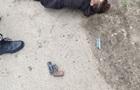 В Житомире мужчина, убегая от полиции, дважды выстрелил сам в себя