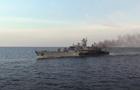 У Чорному морі пройшли українсько-румунські навчання