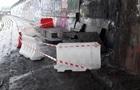 В Киеве произошло обрушение на набережной