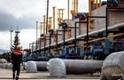 Газовые хранилища Украины заполнены наполовину