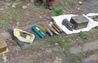 Под Лисичанском обнаружили арсенал оружия