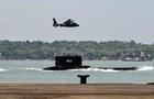 В Індонезії на місці аварії субмарини з явилася нафтова пляма