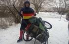 Украинский путешественник прошел пешком 1180 км