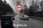 Под Киевом в авто на ходу взорвался газовый баллон