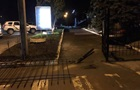 В Сумах пьяный на авто врезался в забор отдела полиции