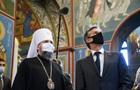 Энтони Блинкен посетил храм ПЦУ в Киеве