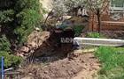 У Харкові прорив труби пошкодив будинок і газопровід