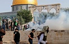 В стычках с полицией Израиля пострадали 180 палестинцев