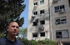 Опубліковані фото наслідків обстрілу по Ізраїлю