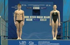 Україна виграла золото у змішаних стрибках у воду з вишки