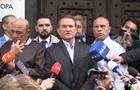 Медведчук вийшов з Офісу генпрокурора