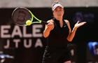 Свитолина вылетела с турнира в Риме, проиграв Швентек