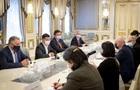 Зеленский встретился с главой МИД Грузии