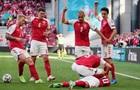Эриксен потерял сознание во время матча с Финляндией