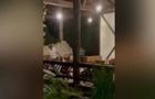 В Пицунде стрельба по туристам попала на видео