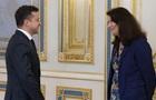 Зеленский встретился с председательницей ОБСЕ