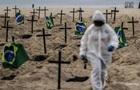 У Бразилії від COVID-19 померли вже півмільйона людей