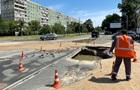 На левом берегу в Киеве прорвало водопровод