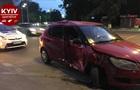 В Киеве при ДТП авто отбросило на пешеходов, есть пострадавшие