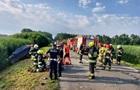 В Польше автобус с украинцами попал в аварию