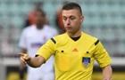 Украинская бригада арбитров обслужит матч Лиги конференций