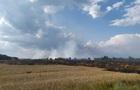 На Черниговщине пожар на пшеничном поле