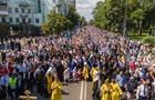 Поліція нарахувала 55 тис. учасників хресного ходу