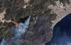 Пожары в Турции: сгоревшие леса видно из космоса