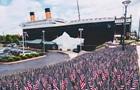 В музее Титаника обрушился айсберг, есть пострадавшие