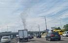 В Киеве возник масштабный пожар на складах