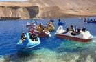 Талибы покатались на лодочках-лебедях с гранатометами