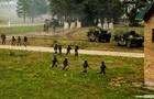 Rapid Trident-2021: военные освободили  захваченный  террористами город