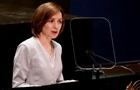 Санду в ООН призвала вывести войска РФ из Приднестровья