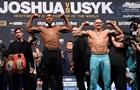 Усик и Джошуа выбрали перчатки на титульный бой