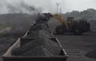 Запасы угля в Украине за неделю уменьшились на 9%
