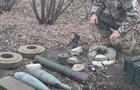 СБУ обнаружила тайники с оружием диверсантов
